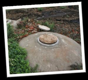 Zisterne für Regenwasser