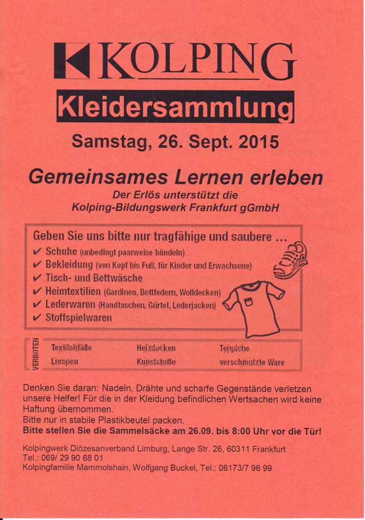 2015-09-26 Kleidersammlung Handzettel 01