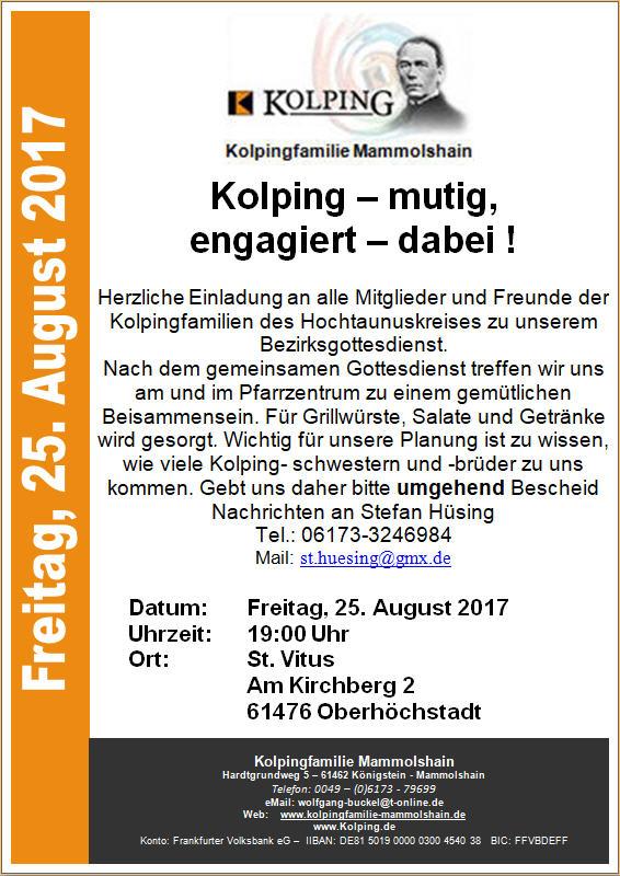 Plakat_2017-08-25_Kolping-Bezirksgottesdienst